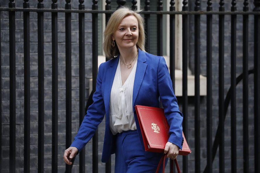 Het pakket zou zijn opgesteld op nadrukkelijk initiatief van minister Liz Truss (Internationale Handel) zelf die de onderhandelingen leidt. Foto: ANP