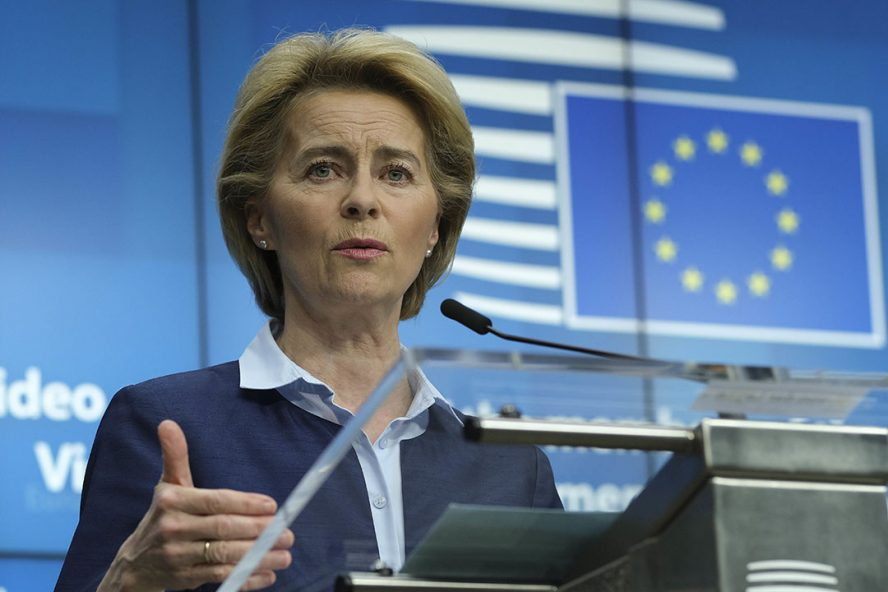 Voorzitter van de Europese Commissie Ursula von der Leyen. - Foto: ANP