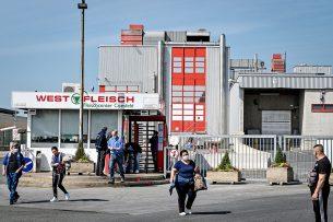 Diverse slachterijen in de VS en in Duitsland (Vion in Bad Bramstedt en Westfleich in Coesfeld) zijn noodgedwongen gesloten vanwege corona-uitbraken onder het personeel. Foto: ANP