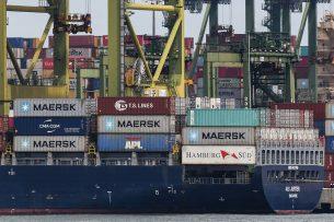 Varkensvlees wordt veelal via containerschepen naar China verscheept. - Foto: ANP