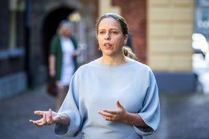 Landbouwminister Carola Schouten neemt het voortouw  bij het realiseren van de zogeheten streefwaarde van 50%. - Foto: ANP