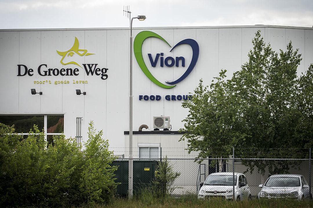 De slachterij van Vion is per direct gesloten vanwege een uitbraak van het coronavirus. - Foto: ANP