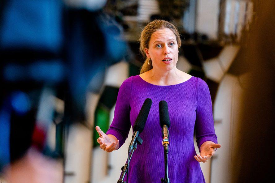Carola Schouten zou onder deze maatregel niet meer dan ruim €8,3 miljoen kunnen uitgeven – wat dan ook nog ten koste zou gaan van andere uitgaven uit het plattelandsontwikkelingsprogramma. Foto: ANP