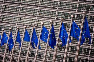 Het gebouw in Brussel waar de Europese Commissie zetelt. - Foto: ANP