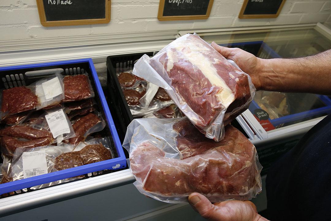 Kalfsvlees is nooit eerder in private opslag gegaan. - Foto: Hans Prinsen