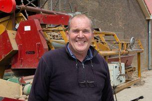 Martin de Ruiter (55) heeft een akkerbouwbedrijf in Strijen (Z.-H.). Foto: Peter Roek