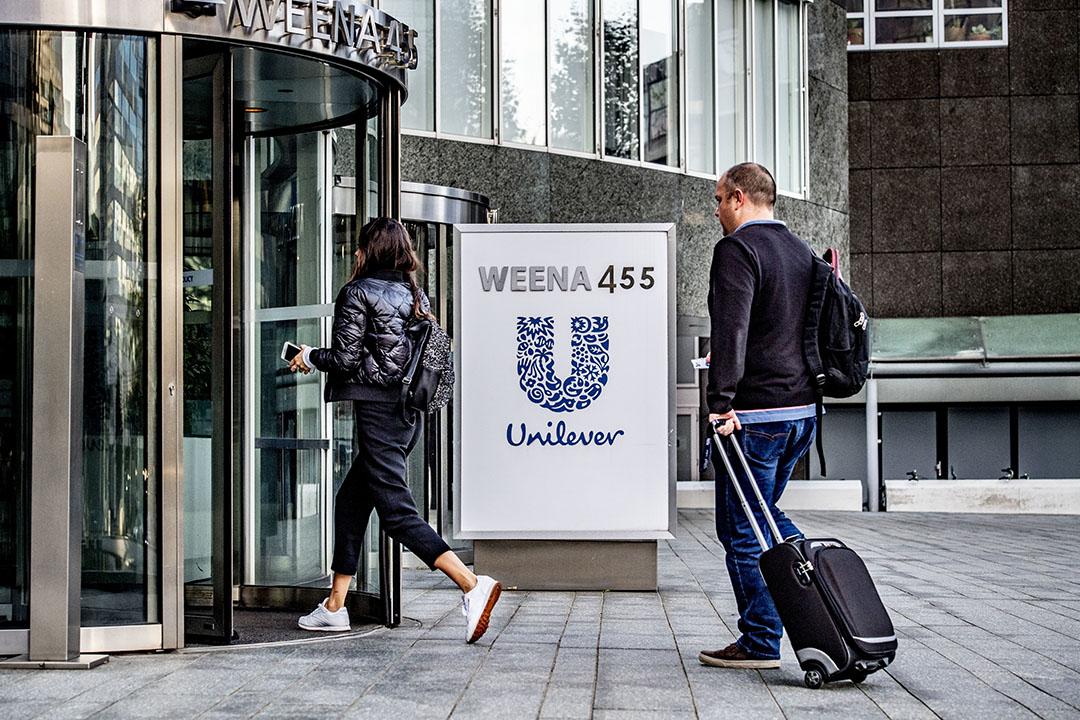 Exterieur van het hoofdkantoor van Unilever in Rotterdam. Foto: ANP
