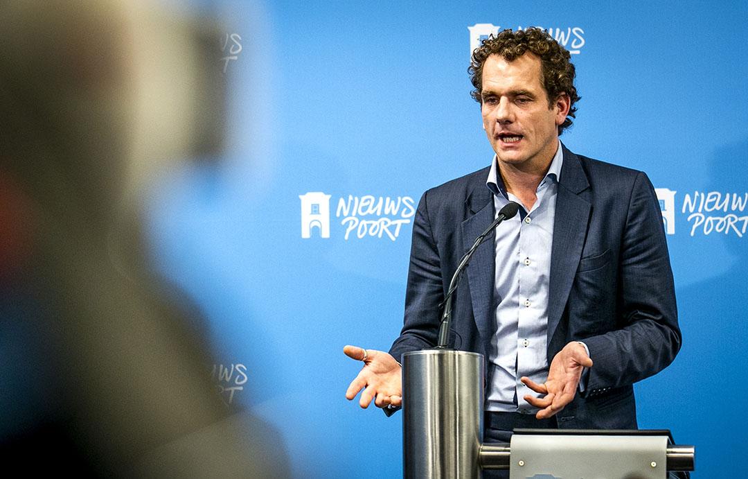 Joris Thijssen, directeur Greenpeace. Foto: ANP