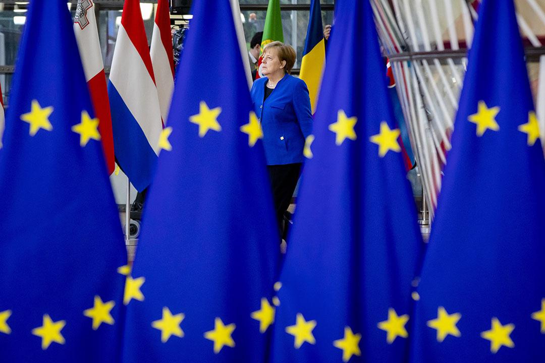 Duitsland is vanaf 1 juii voorzitter van de EU.- Foto: ANP