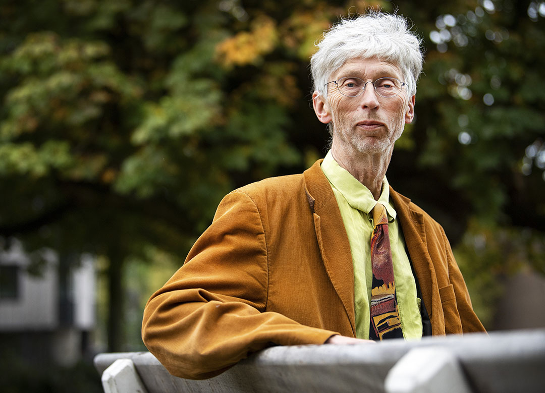 Johan Vollenbroek, voorzitter van de milieugroep Mobilisation for the Environment (MOB). - Foto: ANP