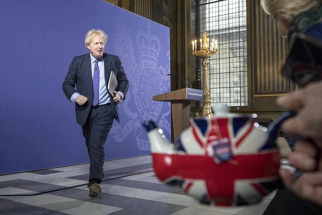 Britse premier Boris Johnson. Foto: ANP