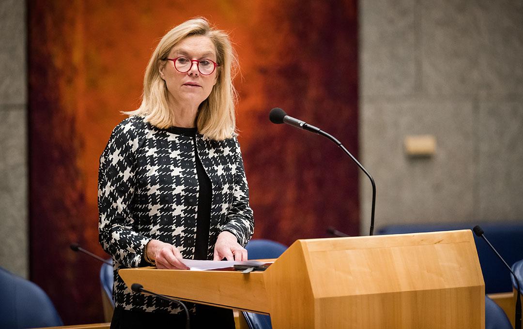 Minister Sigrid Kaag voor Buitenlandse Handel en Ontwikkelingssamenwerking. De regering wordt opgeroepen in Brussel te melden dat Nederland niet langer steun kan geven aan de Mercosur-deal. Foto: ANP