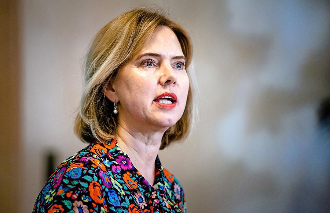 Minister Cora van Nieuwenhuizen stelde naar aanleiding van vragen uit de Tweede Kamer over de mogelijkheden van aanpassingen van het stelsel van geborgde zetels, de adviescommissie Geborgde Zetels in. Foto: ANP