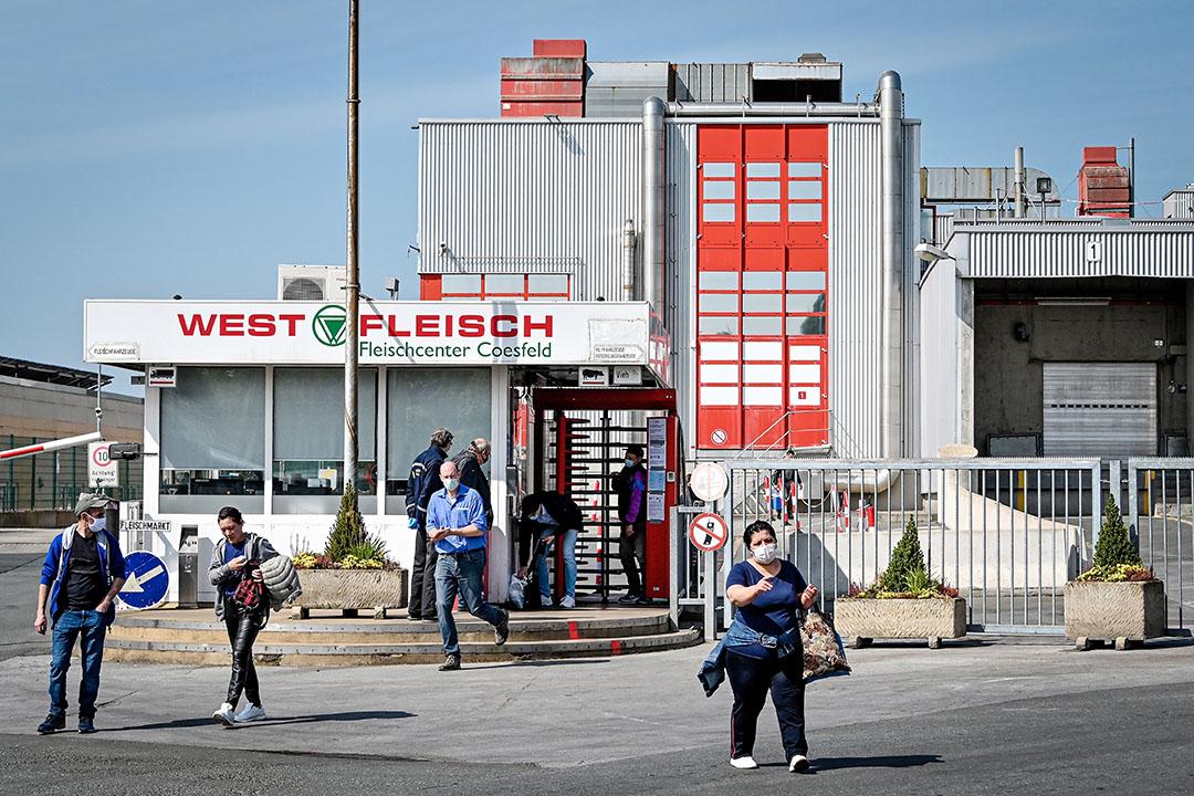 Westfleisch-locatie in Coesfeld. Foto: ANP