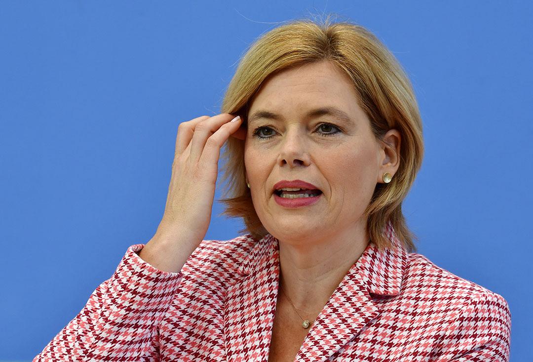 De subsidie wordt niet toegekend voor uitbreiding van de capaciteit van stallen, benadrukt landbouwminister Julia Klöckner. Foto: ANP
