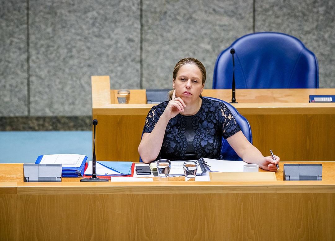 Minster van landbouw Carola Schouten zegt dat er geen mogelijkheden zijn om de maatregelen die de Commissie stelt aan de derogatie, nog aan te passen. - Foto: ANP