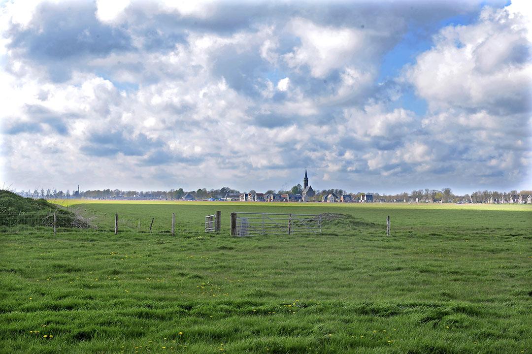 Het pachtnormsysteem leidt er onder meer toe dat in de Droogmakerijen, zoals hier in de Beemster, een extreem lage regionorm overblijft, zegt Jan Willemink. Hierdoor moet er voor de verpachters veel geld bij. - Foto: Fotopersbureau Dijkstra