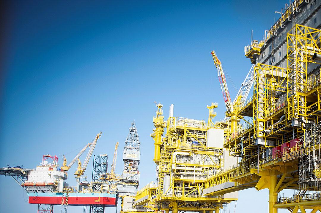 Noorse gaswinning in de Noordzee. - Foto: ANP