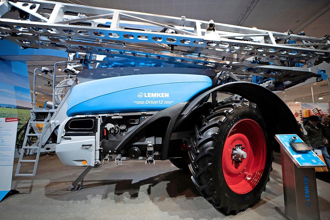 Lemken stopt met de productie van veldspuiten, ondanks dat de fabrikant op de laatste Agritechnica nog nieuwe modellen introduceerde. Foto: Mark Pasveer