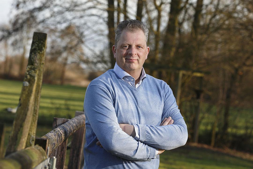 Directeur Marcel Giesen (49) van dealerbedrijf Next Genetix in Wehl (Gld.) - Foto: Hans Prinsen