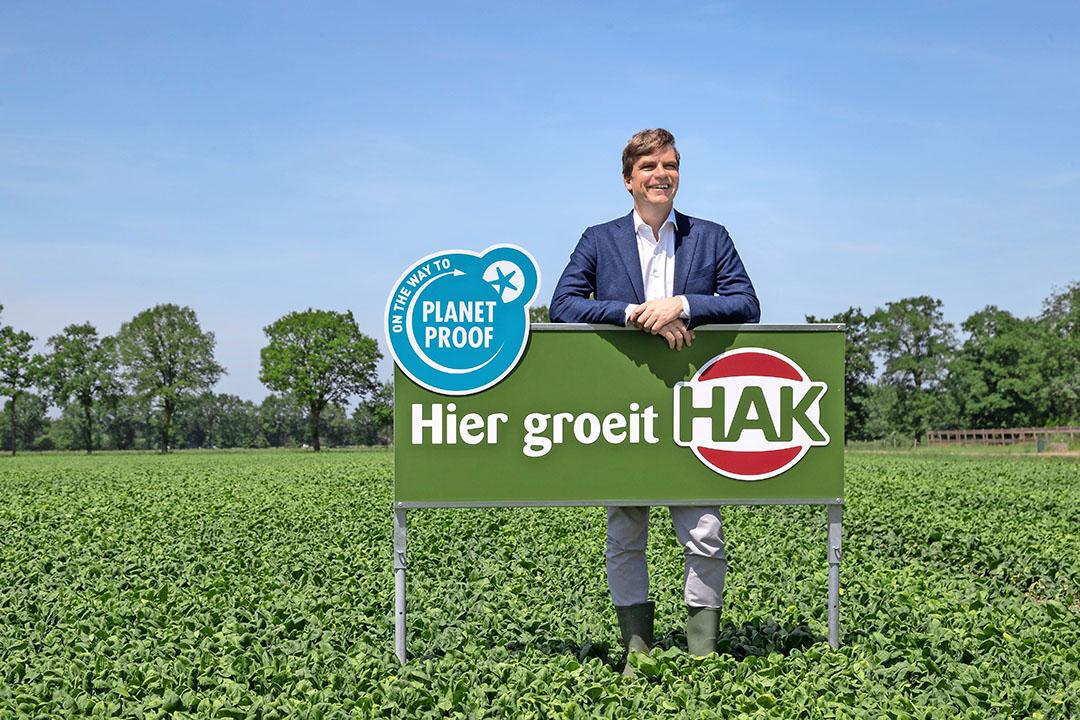 Timo Hoogeboom, CEO van groentefabrikant HAK, pleit voor meer consumptie van lokale groenten en peulvruchten. Foto: HAK