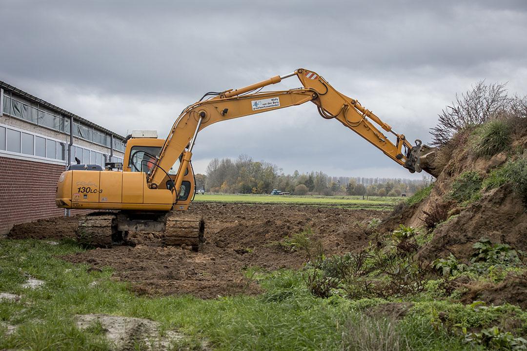 Varkenshouders bewegen zich de laatste jaren steeds meer op de grondmarkt, omdat zij goede resultaten geboekt hebben en dit onder andere investeren in grond. Foto: Koos Groenewold