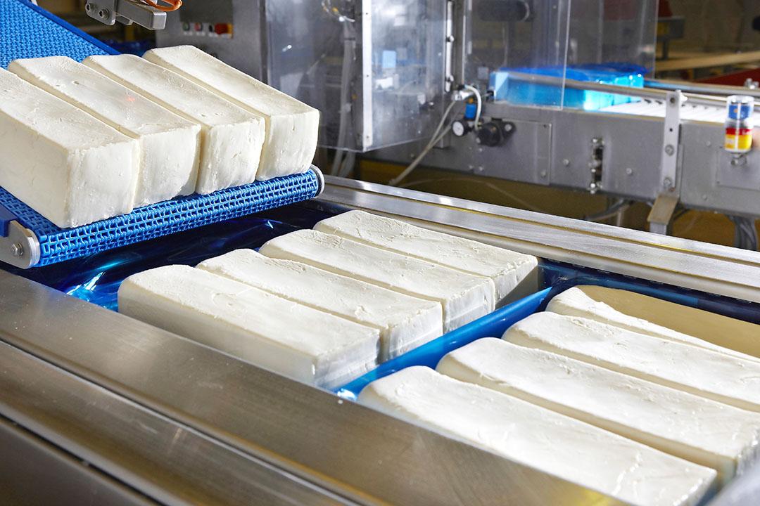Mozzarellaproductie bij Milcobel in Langemark. Mozzarella is een van de belangrijkste pilaren onder Milcobel. - Foto: Milcobel