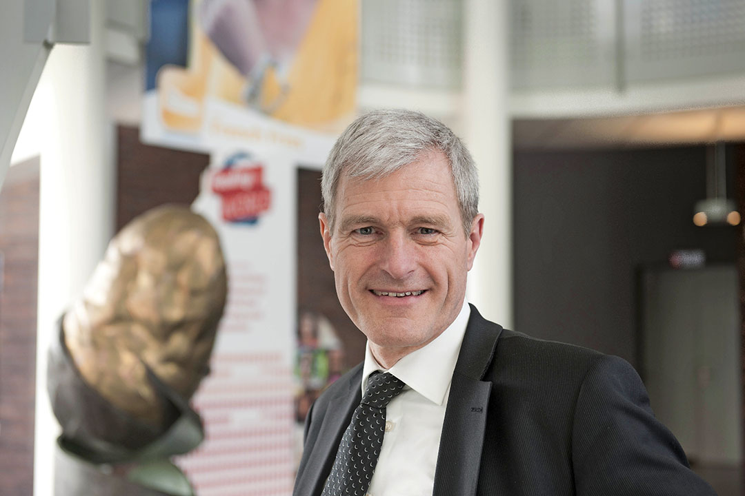 Gerard Backx is directeur van aardappelbedrijf HZPC. - Foto: Mark Pasveer