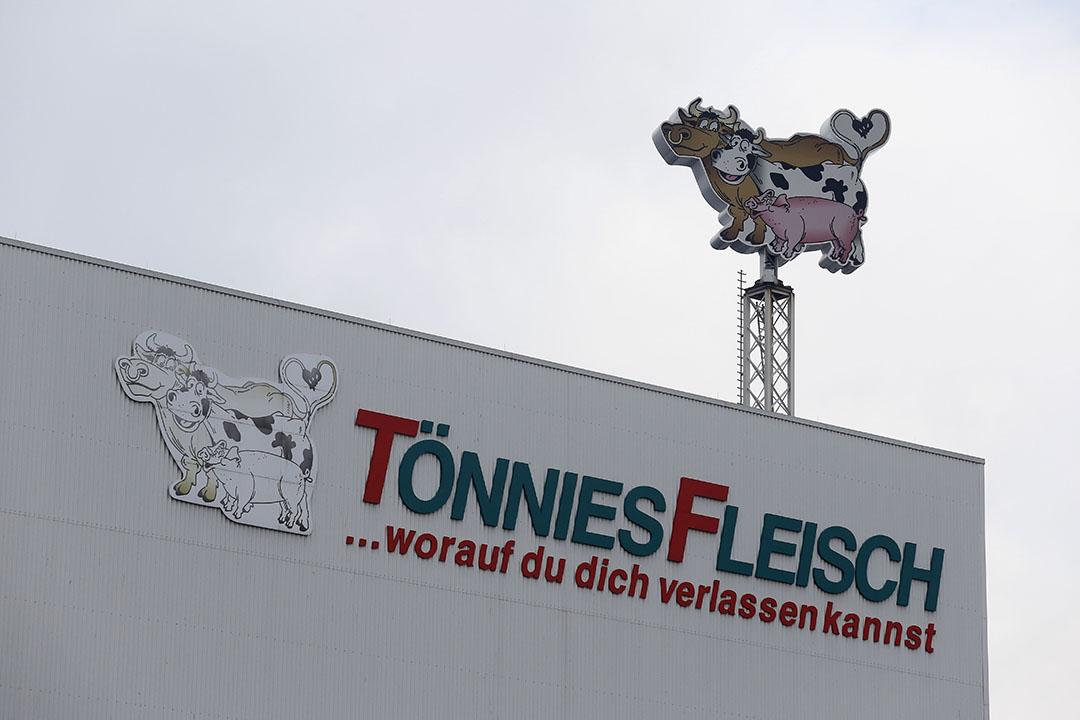 De slachterij van Tönnies Fleisch in Rheda-Wiedenbrück, Duitsland. - Foto: Hans Prinsen