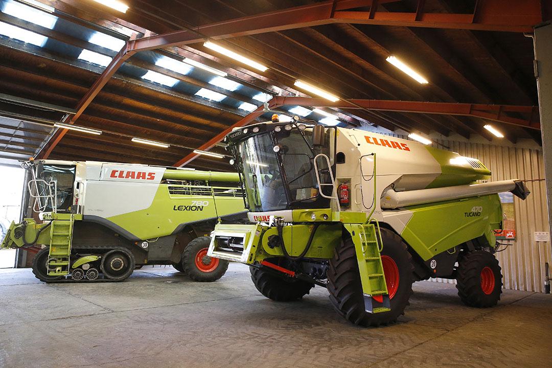 Een van de bedrijven van Reesink is Kamps de Wild in Zevenaar, onder meer importeur van Claas-maaidorsers. - Foto: Hans Prinsen