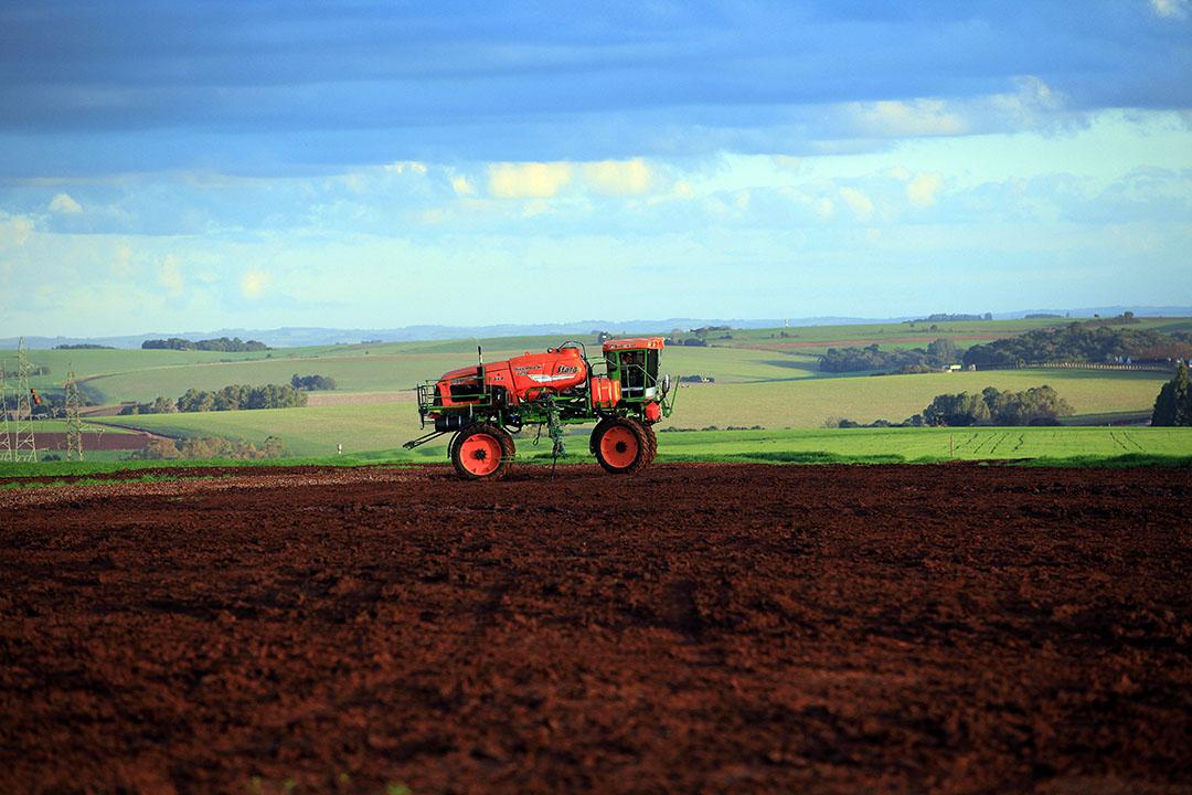 Landbouwgrond in Brazilië. Foto: Henk Riswick