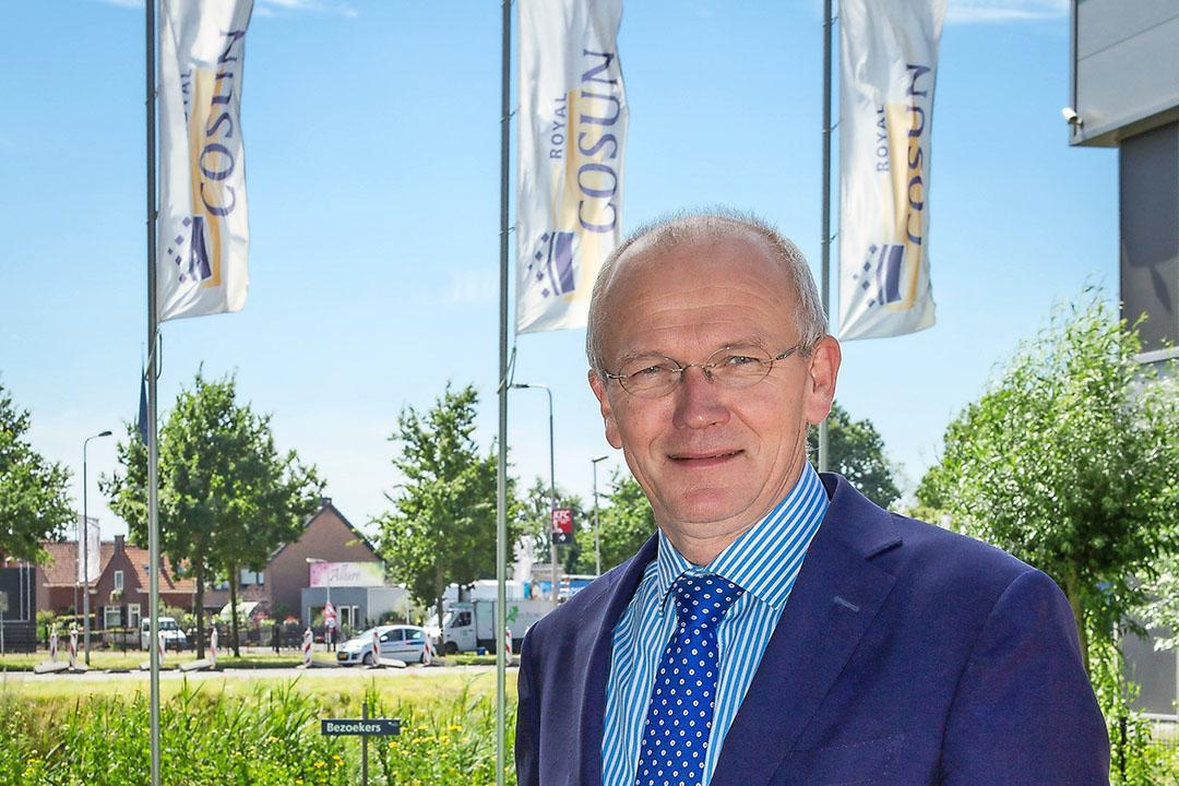 Albert Markusse (61) is sinds 1 juni 2017 voorzitter van de concerndirectie van Cosun.  - Foto: Peter Roek