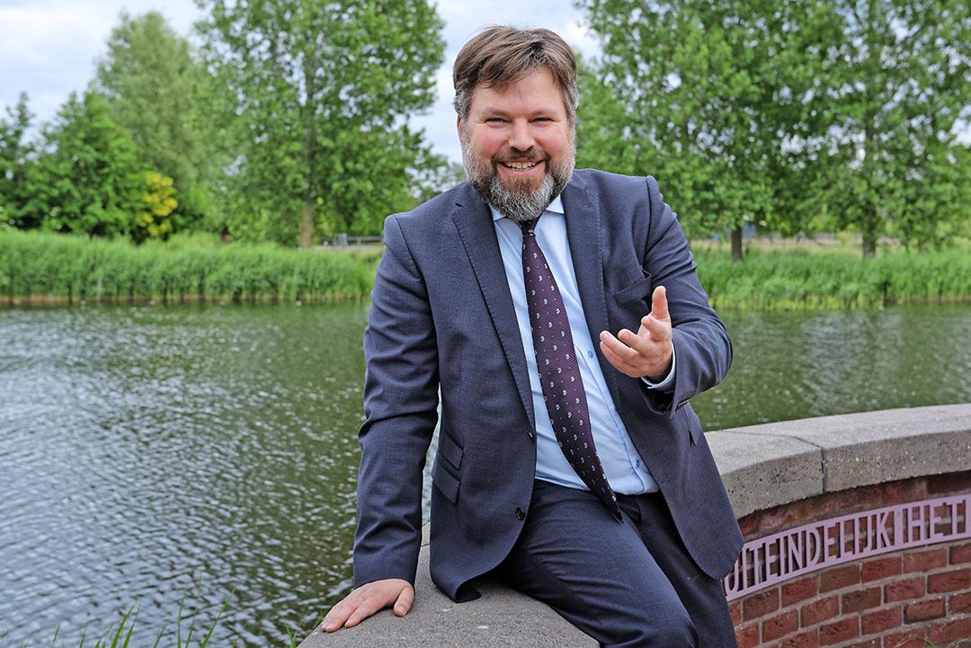 Gijs Weenink traint boerenbestuurders in presentatie en communicatie. - Foto: Lex Salverda