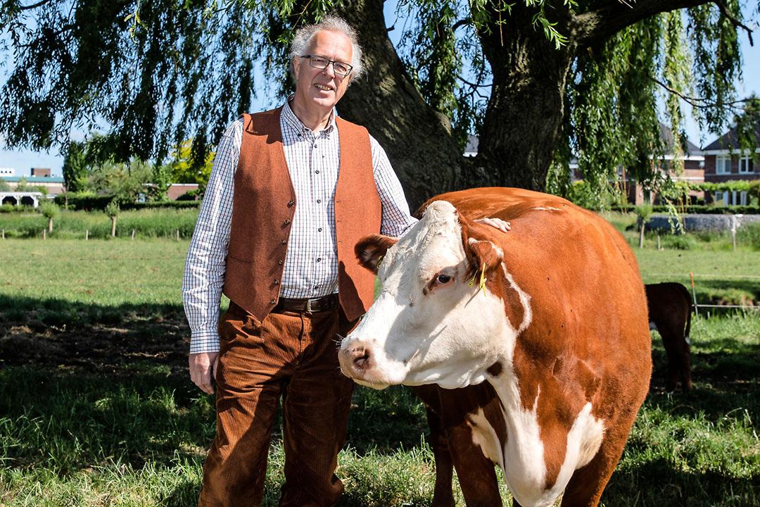 Dirk Duijzer is boegbeeld van van de Topsector Agri en Food. Daarnaast is hij werkzaam als directeur bij Rabobank Nederland. Foto: Herbert Wiggerman