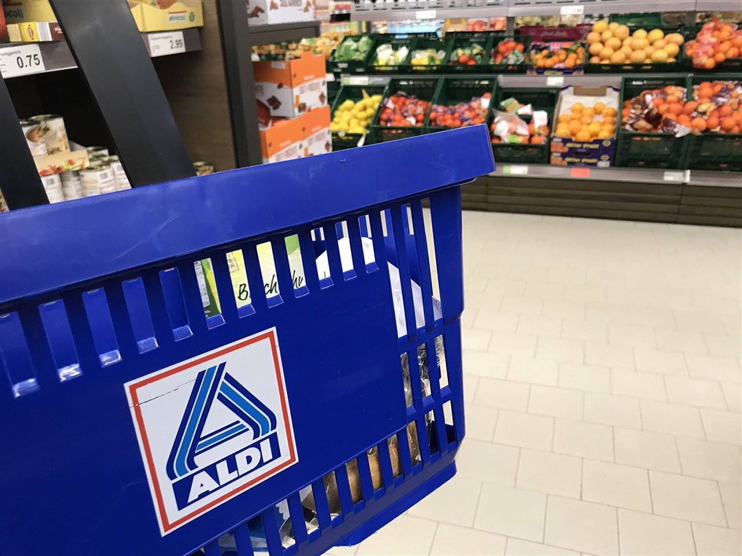 Eind 2019 lag het aandeel groente en fruit met een PlanetProof-keurmerk bij Aldi op 80%. - Foto: ANP/ Imago Stock & People GmbH