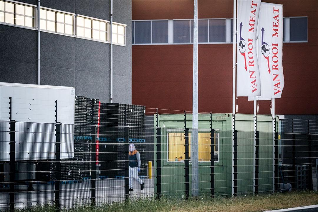 De slachterij van Van Rooi Meat in Helmond. - Foto: ANP