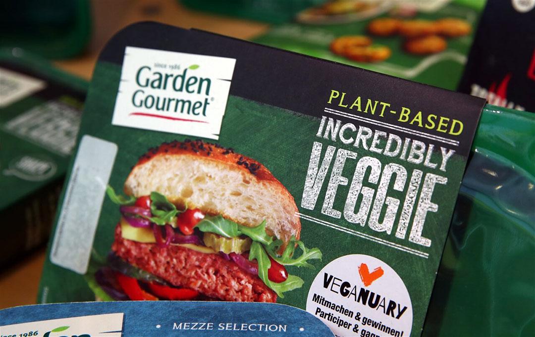 Nestlé-merk Garden Gourmet zorgde voor een flinke toename van de verkoop van vegetarische producten. - Foto: Reuters