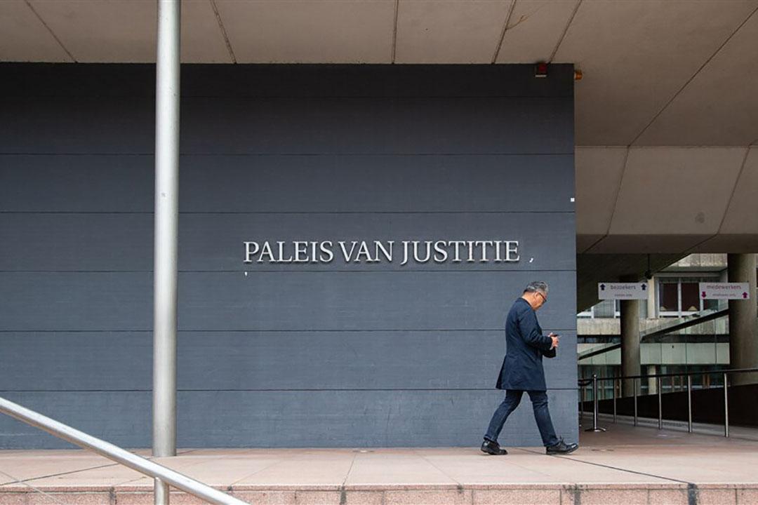 Rechtbank in Den Haag. - Foto: Harold Versteeg
