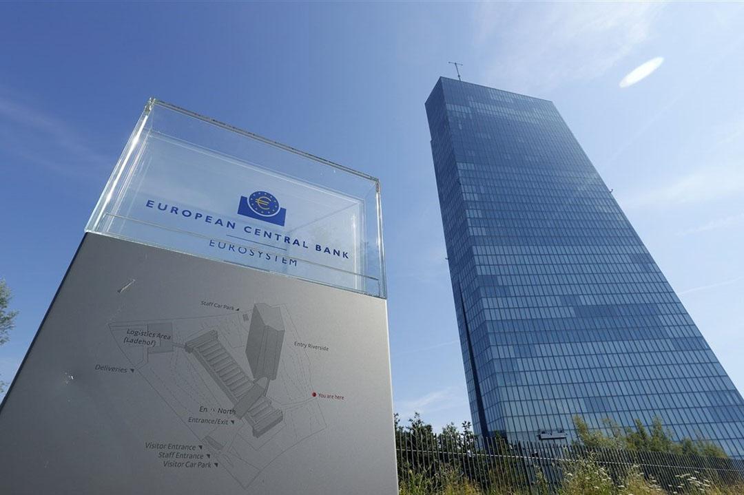 Hoofdkantoor van de ECB in Frankfurt. Foto: ANP