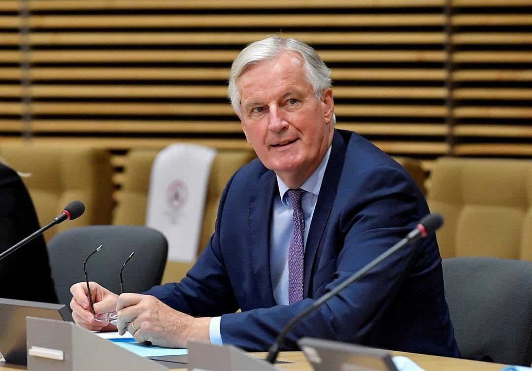 Michel Barnier, die namens de EU de onderhandelingen over brexit voert met het Verenigd Koninkrijk. - Foto: ANP