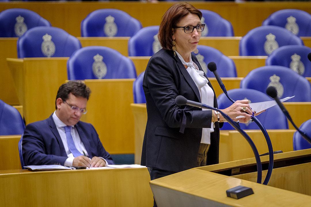 VVD-Kamerlid Helma Lodders. - Foto: Roel Dijkstra