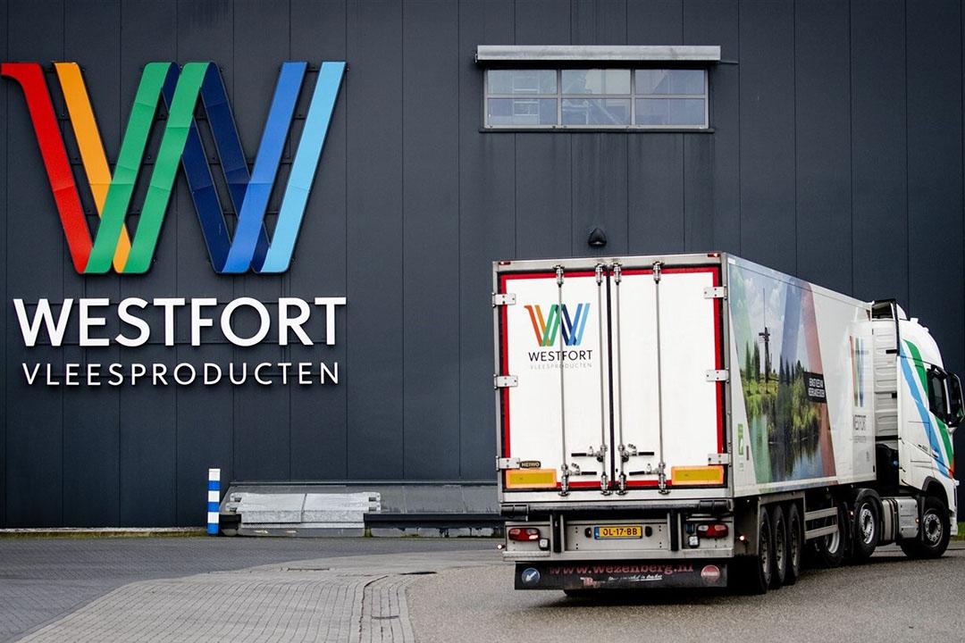 Exterieur van slachthuis Westfort in IJsselstein. Foto: ANP
