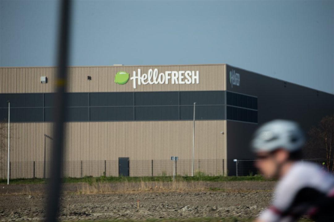 Het distributiecentrum van HelloFresh in Zoetermeer. - Foto: ANP