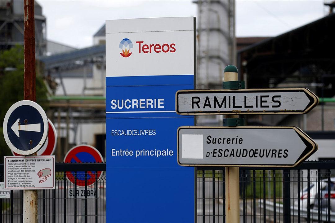 De suikerfabriek van Tereos in het Noord-Franse Escaudoeuvres. - Foto: ANP