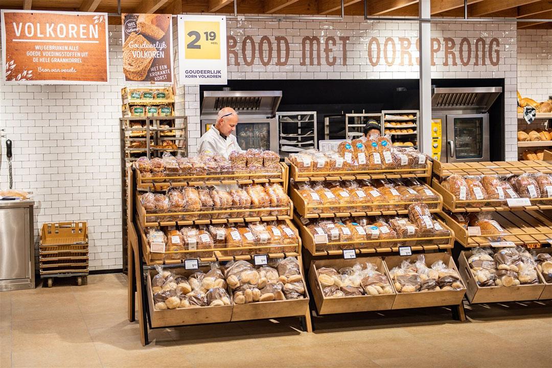 Brood-afdeling bij een Jumbo-filiaal. Foto: ANP