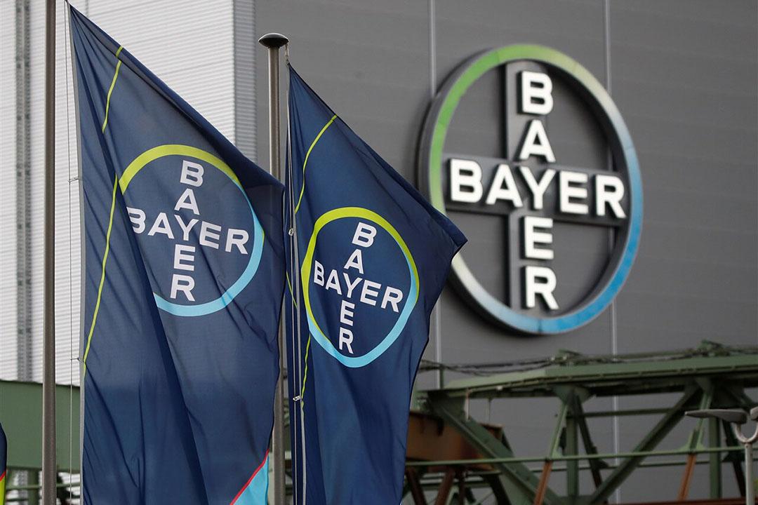 Bayer zag de beurskoers met 9,3% dalen. Een dag voor de publicatie vam de kwartaalcijfers maakte Bayer bekend dat de koop van de diergezondheidstak door Elanco is afgerond. Toen steeg de koers nog met 4%. - Foto: ANP