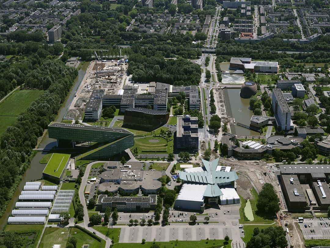De helft van het geld wordt geïnvesteerd in gebouwen en de infrastructuur van de campus in Groningen. - Foto: ANP/Nederlandse Freelancers