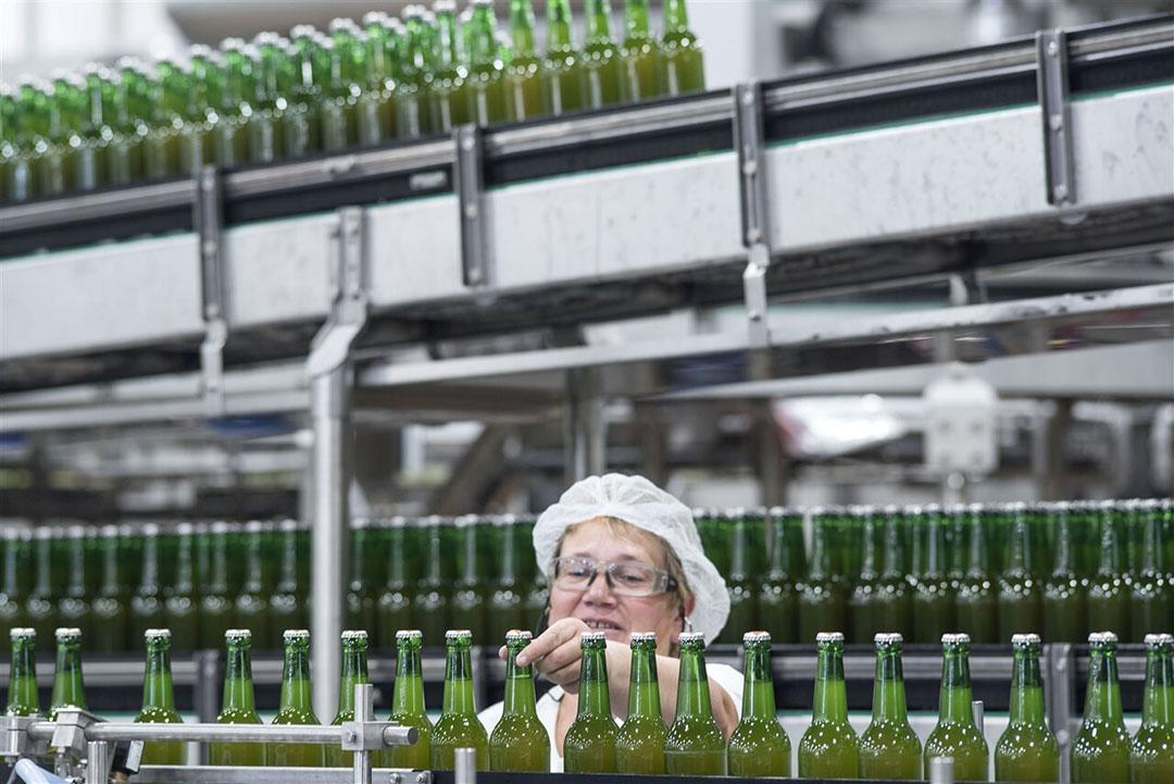 Brouwerij van Carlsberg in het Duitse Lübz. - Foto: ANP