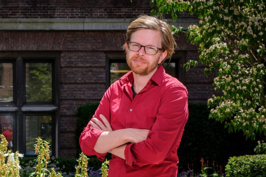 Onderzoeker Martijn Vink van het PBL is hoofdauteur van het PBL-advies over voermaatregelen. - Foto: Fred Libochant