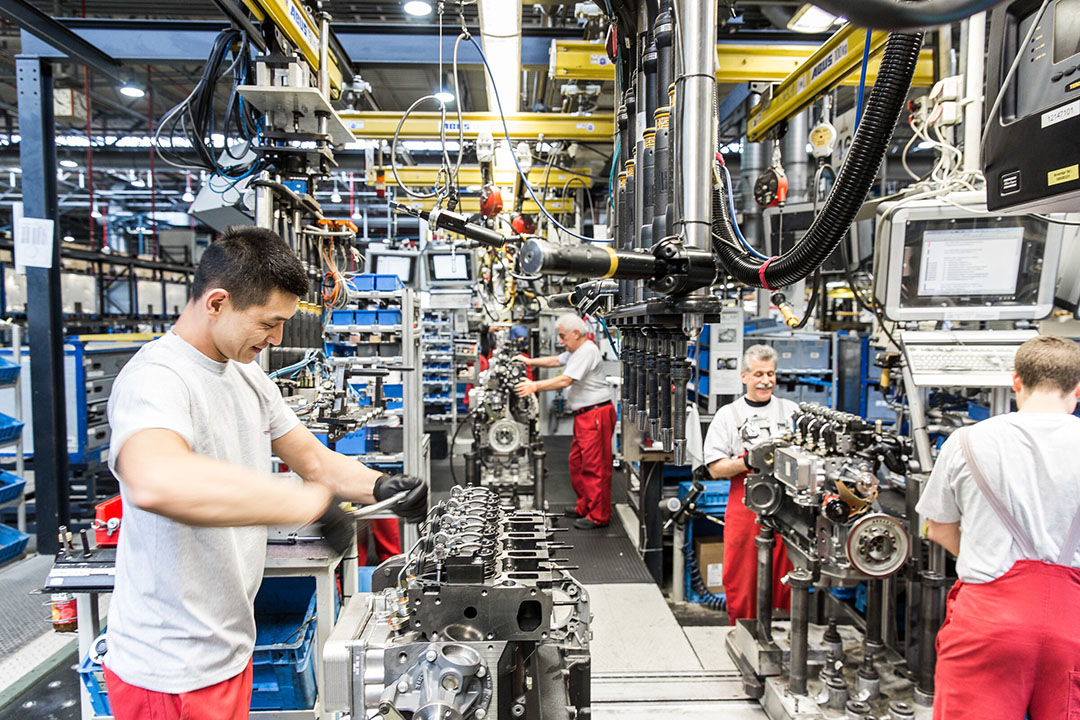 Productielocatie van Deutz AG. - Foto: Nils Hendrik Mueller